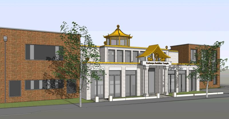 Kadampa Temple Hart Baskerville